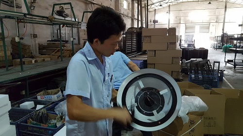 Kwaliteitsinspecteur China